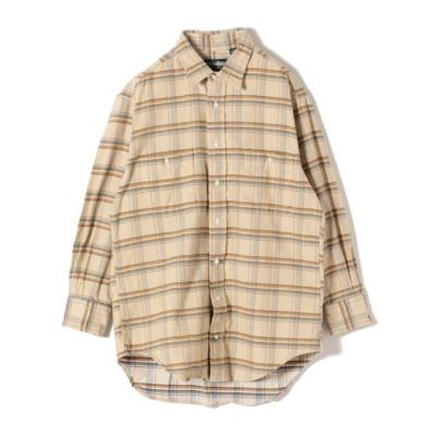 【シップス/SHIPS】 GITMAN:コーデュロイビッグチェックシャツ