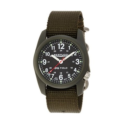 Bertucci DX3 Field Watch Black - Black Nylon & HDO Cap Bundle 並行輸入品