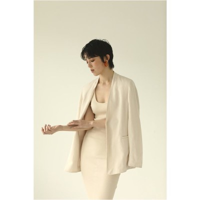 Piping Linen Jacket -IVORY (12010108) Todayful(トゥデイフル)