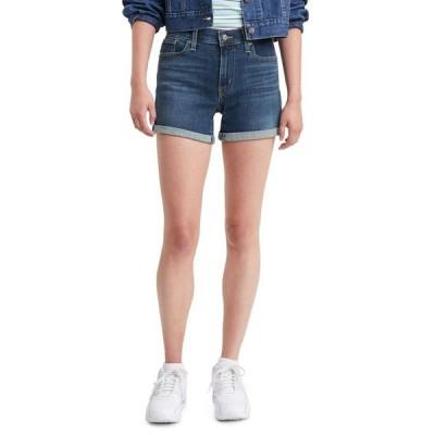 リーバイス レディース ハーフパンツ・ショーツ ボトムス Women's Mid-Length Shorts