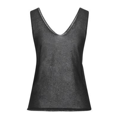 アノニム デザイナーズ ANONYME DESIGNERS プルオーバー ブラック M レーヨン 70% / Lurex® 20% / ナイロン 1