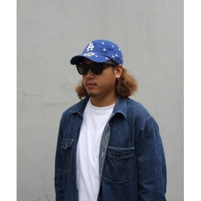 H.L.N.A / 【47Brand】Dodgers Confetti '47 CLEAN UP MEN 帽子 > キャップ