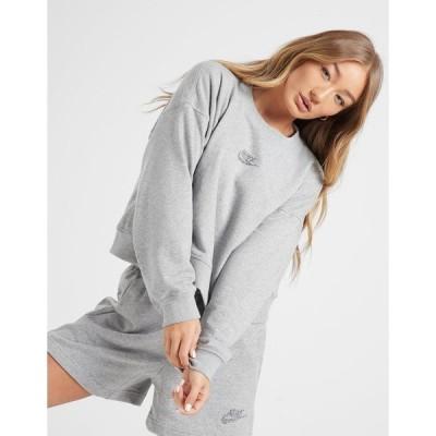 ナイキ レディース パーカー・スウェットシャツ アウター Nike Revival Crew Sweatshirt grey