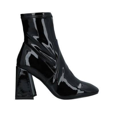 スティーブ マデン STEVE MADDEN ショートブーツ ブラック 6 紡績繊維 ショートブーツ