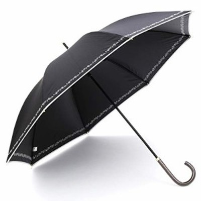 送料無料a.s.s.a 日傘 UVカット 遮光 長傘 レディース 晴雨兼用 超軽量 遮光率 99.99%以上 遮熱効果 50cm フラワー 刺繍 (FL144/ブラック