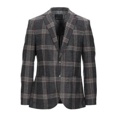 DIGEL テーラードジャケット 鉛色 48 ウール 100% テーラードジャケット