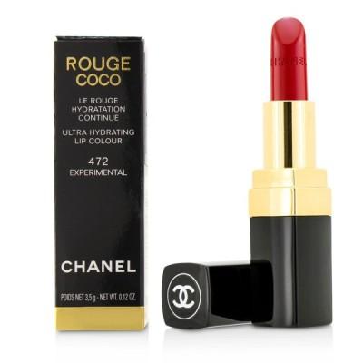 シャネル リップスティック Chanel 口紅 ルージュ ココ ウルトラ ハイドレーティング リップ カラー #472 Experimental 3.5g
