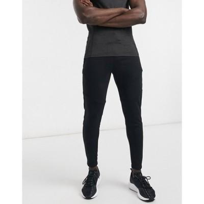 サウスビーチ メンズ カジュアルパンツ ボトムス South Beach performance sweatpants in black