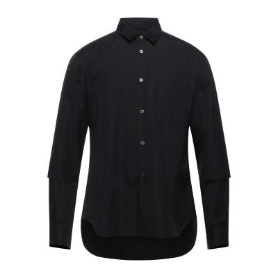 コム デ ギャルソン・シャツ COMME des GARÇONS シャツ ブラック M コットン 100% シャツ