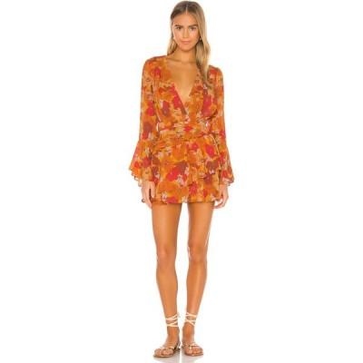 ハウスオブハーロウ1960 House of Harlow 1960 レディース ワンピース ミニ丈 ワンピース・ドレス x REVOLVE Uriah Mini Dress 70s Floral Multi
