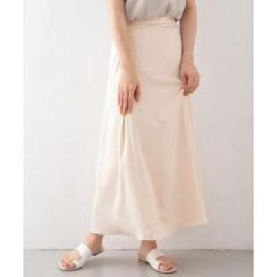 ケービーエフサテンAラインスカート【お取り寄せ商品】