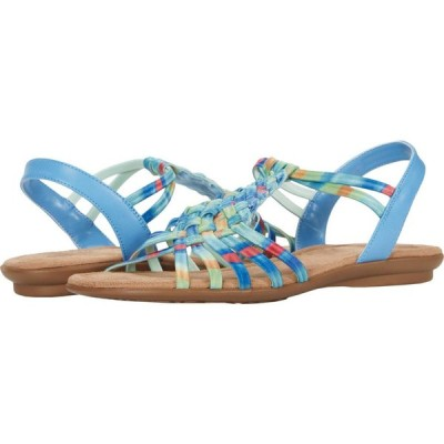 Impo レディース サンダル・ミュール シューズ・靴 Brinley Blue/Multi