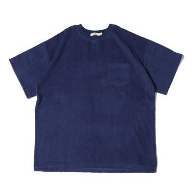 アグ UGG 半袖Tシャツ ピスタグパイル ティーシャツ (NAVY) 21SS-I at20-c