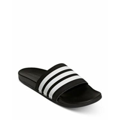 アディダス メンズ サンダル シューズ Adilette Comfort Slide Sandals Black