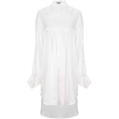 アン ドゥムルメステール ANN DEMEULEMEESTER シャツ ライトピンク 36 レーヨン 65% / シルク 35% シャツ