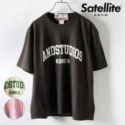 Satellite サテライト 1142 レディース 半袖 カットソー Tシャツ IX2 D22