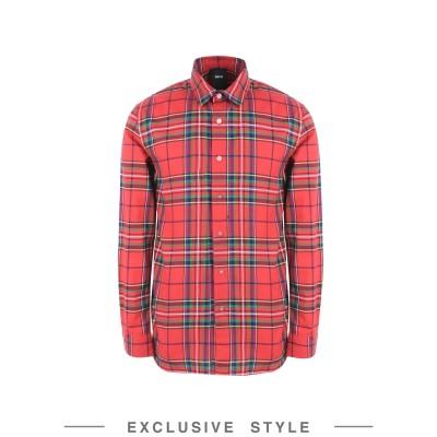 DBYD x YOOX シャツ レッド 46 コットン 100% シャツ
