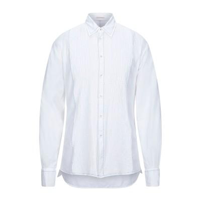パロッシュ P.A.R.O.S.H. シャツ ホワイト L コットン 100% シャツ