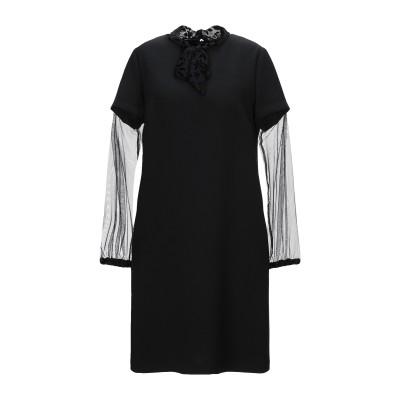 TROU AUX BICHES ミニワンピース&ドレス ブラック 42 ポリエステル 95% / ポリウレタン 5% ミニワンピース&ドレス
