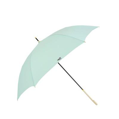 ノーブランド No Brand CONVERSE コンバース 軽量雨傘 ワンポイント刺繍 60cm (ミントグリーン)