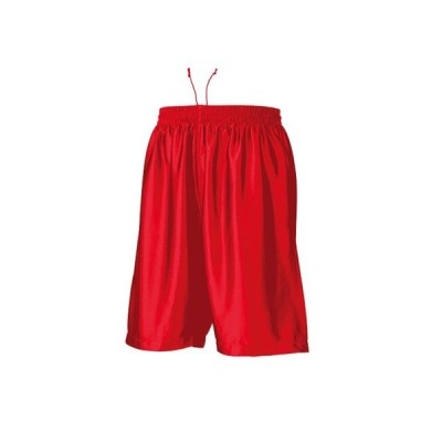 【ゆうパケット対応】WUNDOU (ウンドウ) バスケットパンツ レッド P-8500J 1710 キッズ ジュニア 子供 子ども