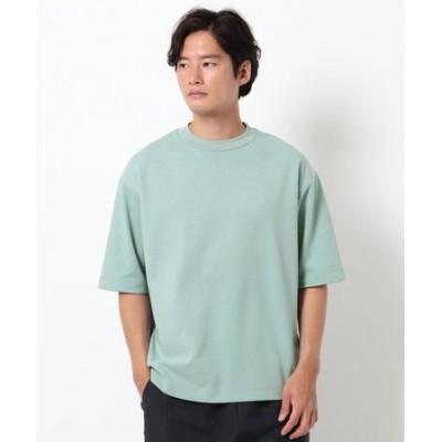 【吸水速乾・快適さらさら】AIR DRY ビッグシルエット5分袖Tシャツ