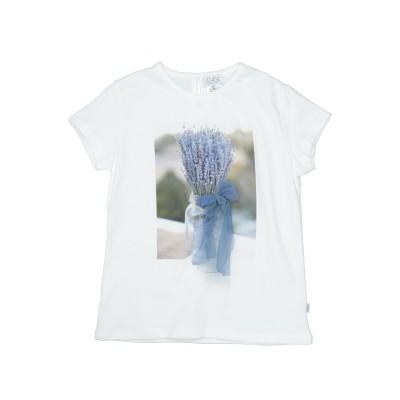 MAGIL T シャツ ホワイト 4 コットン 93% / ポリウレタン 7% T シャツ