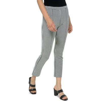 マイケル コース Michael Kors レディース クロップド ボトムス・パンツ Cubist Cropped Pants Black/White