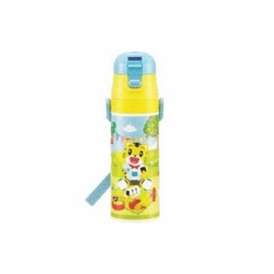 【しまじろう】ロック付ワンプッシュダイレクトステンレスボトル【ピクニック】【こどもちゃれんじ】【とら】【トラ】【キャラクター】【