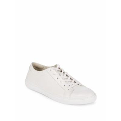 ケネスコール メンズ スニーカー Leather Cap Toe Sneakers