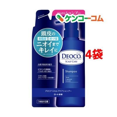 デオコ スカルプケアシャンプー つめかえ用 ( 285ml*4袋セット )/ デオコ