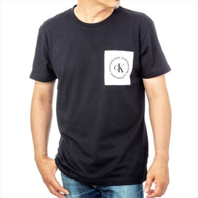 カルバンクライン Calvin Klein J30J314761BAE Tシャツ ティーシャツ 半袖 クルーネック メンズ