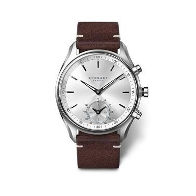 Kronaby sekel ユニ アナログクォーツ腕時計 レザーブレスレット付き S0714/1並行輸入