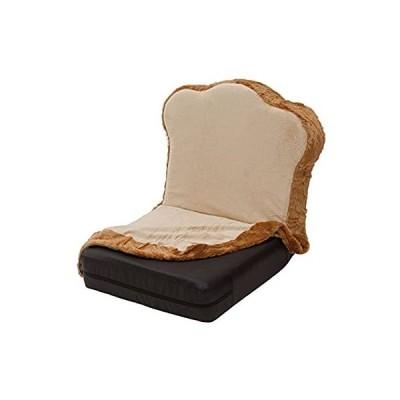 セルタン 日本製 カバーが洗える トースト 座椅子 低反発 リクライニング DPN1a-14段-トースト+PN1-92BK