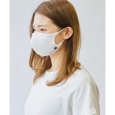 ボディケア 【洗える・接触冷感素材】ネコ柄マスク(ケース付き)