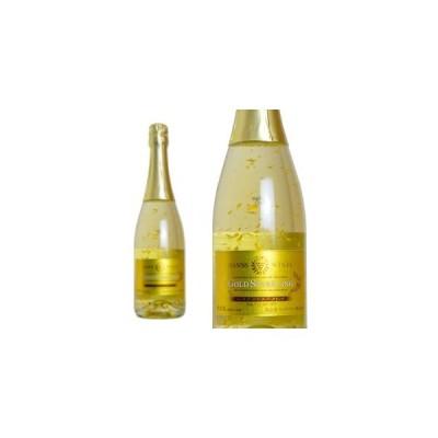 ゴールド スパークリングワイン マンズ 日本 山梨県他 白ワイン やや甘口 泡 750ml (マンズ・ゴールド・スパークリングワイン)