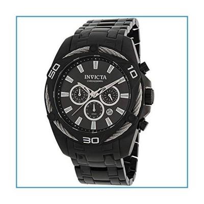 新品Invicta Bolt Chronograph Quartz Black Dial Men's Watch 34136【並行輸入品】