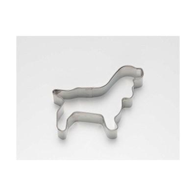 タイガークラウン クッキー型 シルバー 68×51×21mm 18-8抜型 犬 コッカースパ 18-8ステンレス コッカースパニエル 198