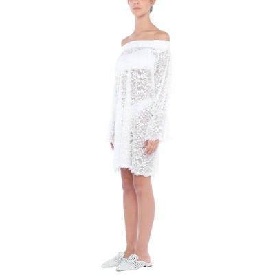 4GIVENESS ビーチドレス ホワイト S ナイロン 90% / ポリウレタン 10% ビーチドレス