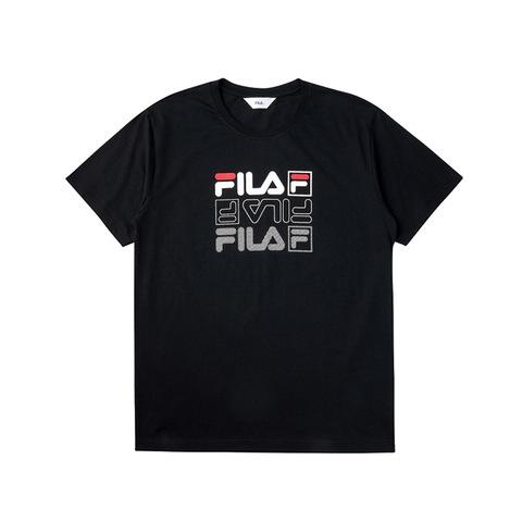 FILA 圓領T恤-黑色 1TEV-1514-BK
