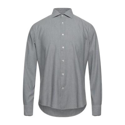 INGRAM シャツ グレー 38 コットン 100% シャツ