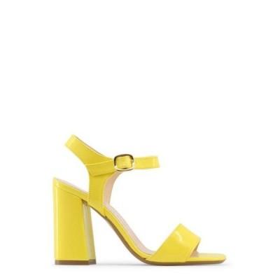 レディース 靴 サンダル Made in Italia ANGELA-GIALLO-Yellow-39 Angela Womens Sandals - Yellow Size 39