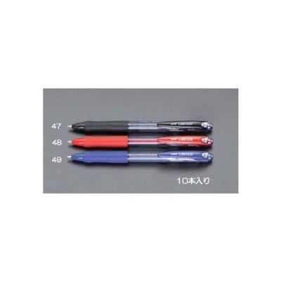 エスコ 1.0mmボールペン(青・10本) EA765MG-49 1箱