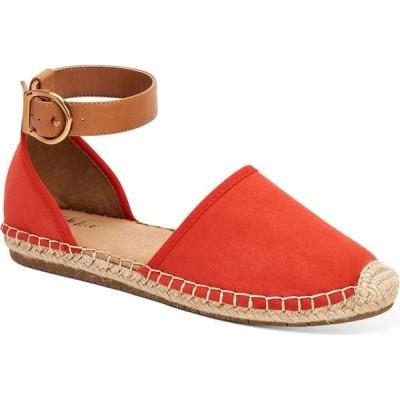 スタイル&コー Style & Co レディース サンダル・ミュール フラット シューズ・靴 Paminaa Flat Sandals Red Coral Micro