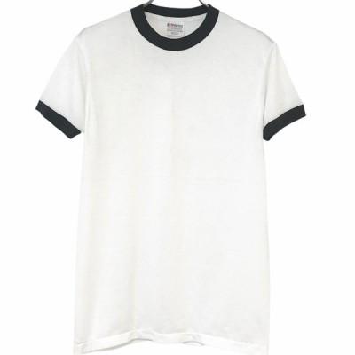 Dead Stock 80's Hanes Ringer T-shirt made in USA Black デッドストック ヘインズ リンガーT USA製 ブラック
