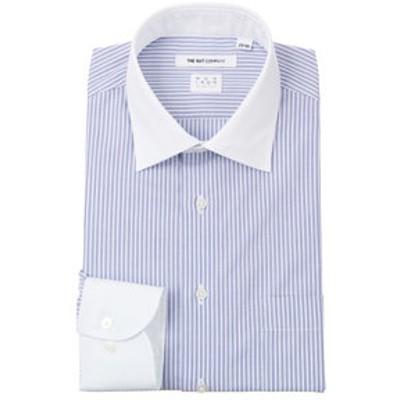 【NON IRON STRETCH】クレリック&ワイドカラードレスシャツ〔EC・FIT〕