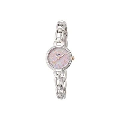 [エンジェルハート] 腕時計 フラワリータイム ピンクパール文字盤 スワロフスキー FT24SP シルバー