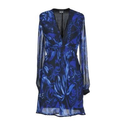 ジャストカヴァリ JUST CAVALLI ミニワンピース&ドレス ブルー 38 レーヨン 100% ミニワンピース&ドレス