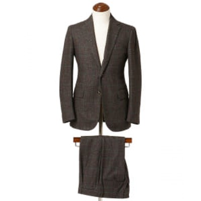 【アウトレット】Stile Latino / LEO グレンチェック+ペーン スーツ