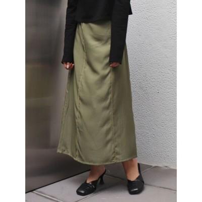 スカート パネルグロススカート